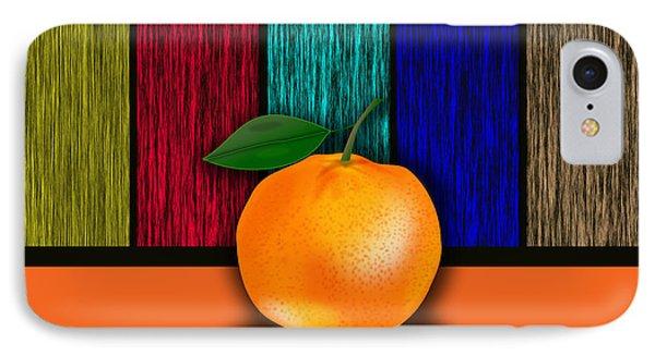 Orange IPhone Case by Marvin Blaine