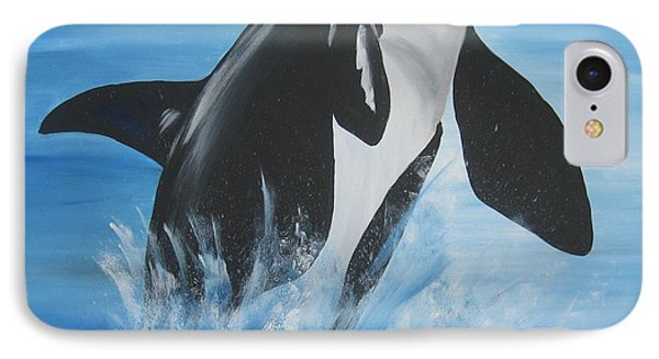 Orca IPhone Case by Cathy Jacobs