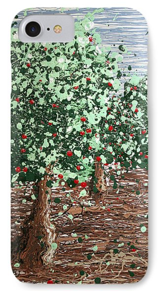 Orchard 4 IPhone Case by Ric Bascobert