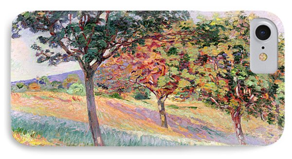Orchard At St Cheron IPhone Case by Jean Baptiste Armand Guillaumin