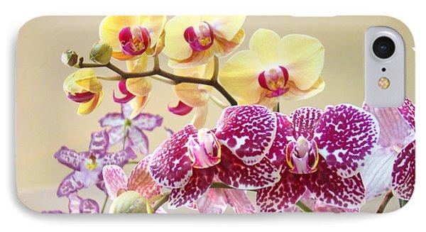 Orchid Art Prints Orchids Flowers Floral Bouquets Phone Case by Baslee Troutman