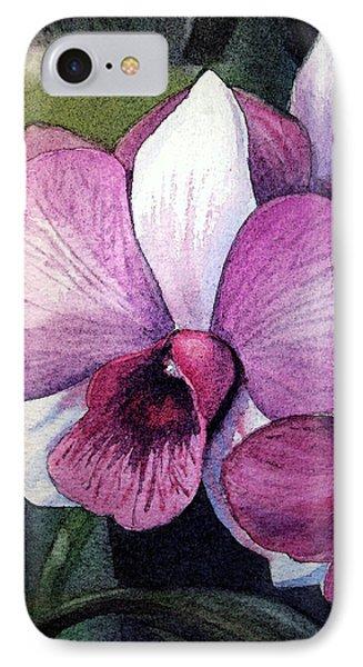 Orchid IPhone 7 Case by Irina Sztukowski