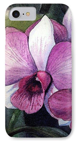 Orchid IPhone Case by Irina Sztukowski