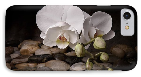 Orchid - Sensuous Virtue IPhone Case by Tom Mc Nemar