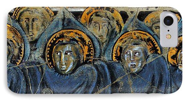 Order Of Cherubim Angels - Study No. 2 Phone Case by Steve Bogdanoff