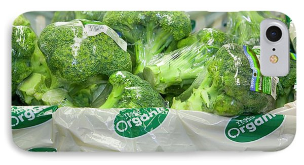 Organic Broccoli For Sale IPhone Case by Ashley Cooper