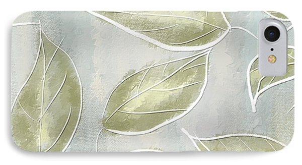 Organic Feel IPhone Case by Lourry Legarde