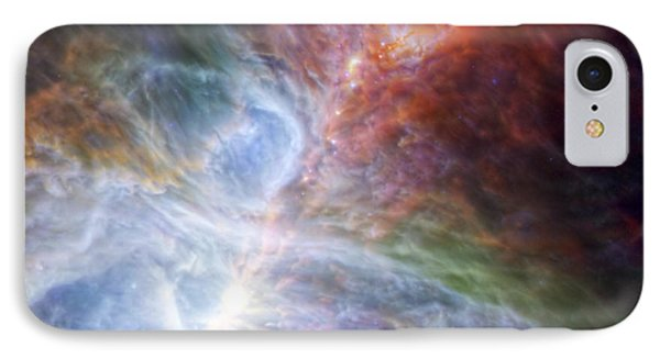 Orion's Rainbow Of Infrared Light IPhone Case by Adam Romanowicz