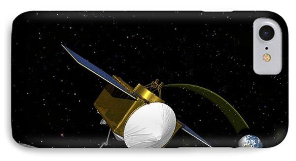 Osiris-rex Asteroid Mission IPhone Case by Nasa/goddard/university Of Arizona