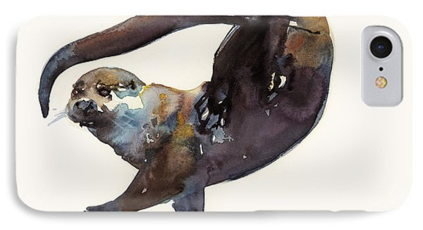 Otter Study II  IPhone Case by Mark Adlington