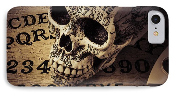 Ouija Boards And Skull 2 IPhone Case by Garry Gay