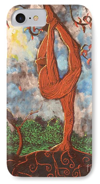 Our Dance With Nature Phone Case by Stefan Duncan
