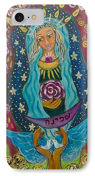 Our Lady Of Rebirth And Renewal Phone Case by Havi Mandell