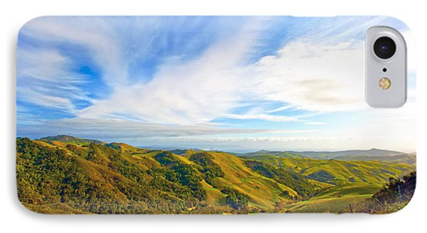 Overlooking Morro Bay Ca Phone Case by Artist and Photographer Laura Wrede