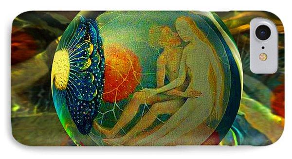 Ovule Of Eden  Phone Case by Robin Moline