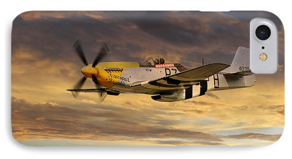 P-51 Ferocious Frankie IPhone Case by J Biggadike