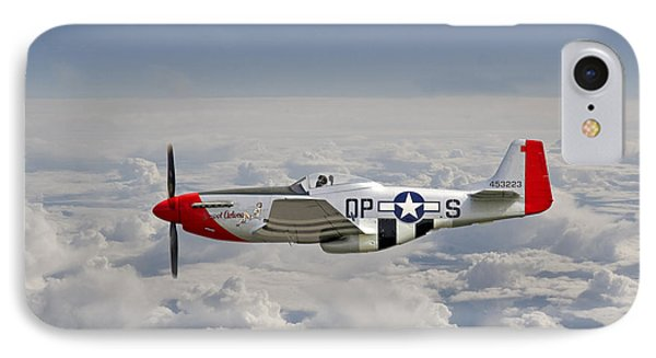P51 Mustang Gallery - No4 IPhone Case by Pat Speirs