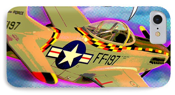 P51 Mustang IPhone Case by Gary Grayson