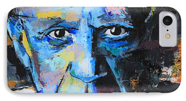 Pablo Picasso IPhone Case by Richard Day