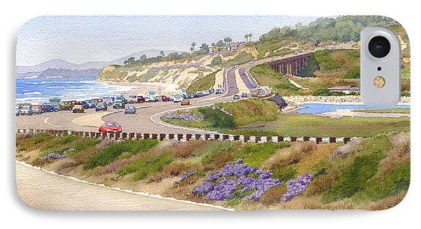 Pacific Coast Hwy Del Mar IPhone Case by Mary Helmreich
