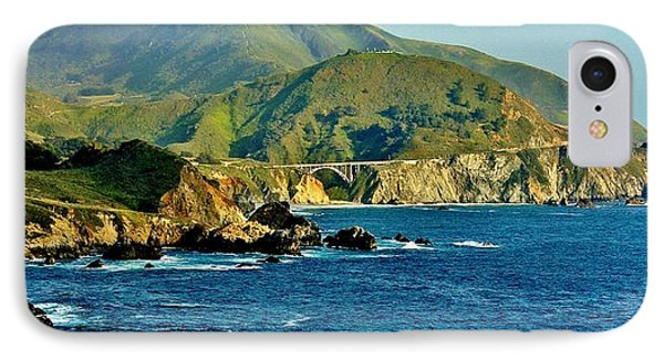 Pacific Coast Panorama IPhone Case by Benjamin Yeager