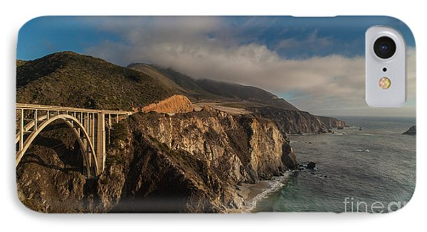 Pacific Coastal Highway IPhone Case by Mike Reid