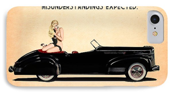 Packard Go Topless IPhone Case by Cinema Photography