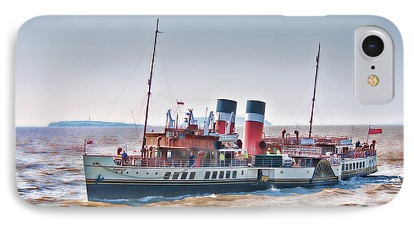 Paddle Steamer Waverley Phone Case by Steve Purnell