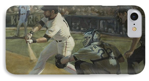 Pagan Leadoff Triple IPhone Case by Darren Kerr