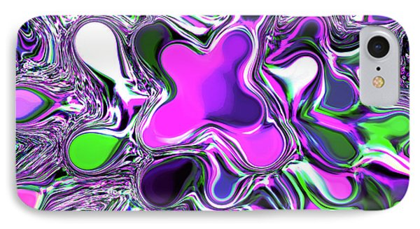 Paint Ball Color Explosion Purple Phone Case by Andee Design
