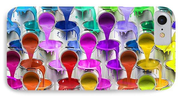 Paint Bucket Waterfall IPhone Case by Aimee Stewart