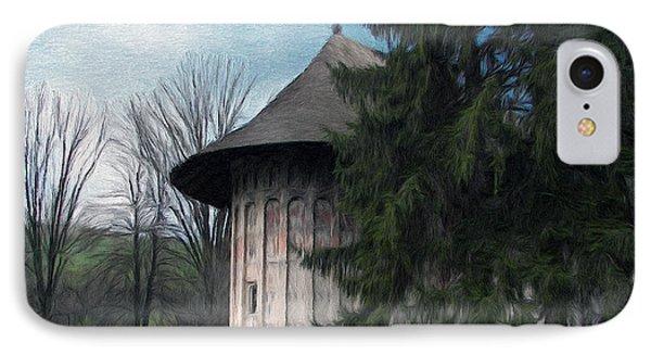 Painted Monastery Phone Case by Jeff Kolker