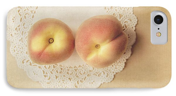 Pair Of Peaches Phone Case by Jillian Audrey Photography
