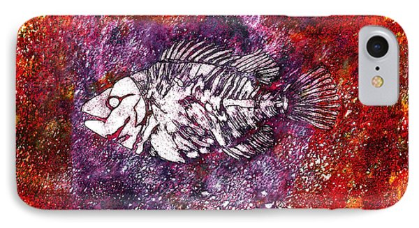Paleo Fish IPhone Case by Bellesouth Studio