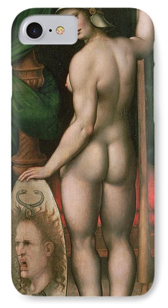 Pallas Athena IPhone Case by Fontainebleau School