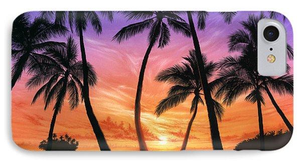 Palm Beach Sundown IPhone Case by Andrew Farley