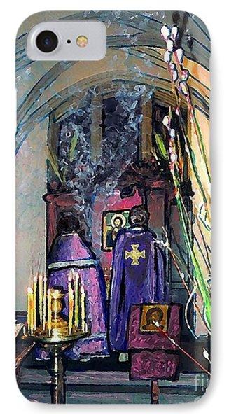 Palm Sunday Liturgy Phone Case by Sarah Loft