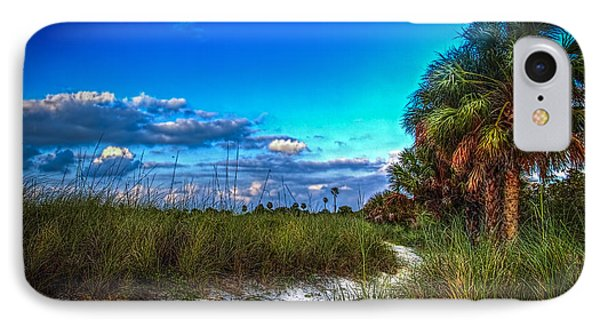 Palm Trail IPhone Case by Marvin Spates