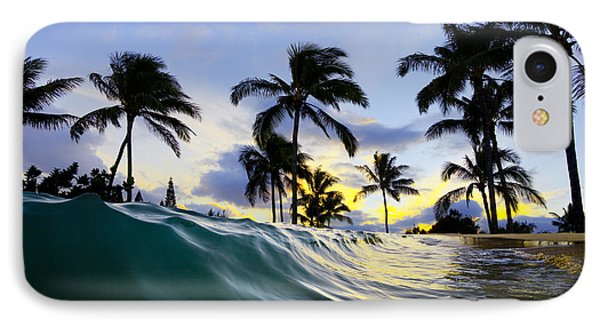 Palm Wave IPhone Case by Sean Davey