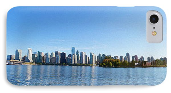 Panorama Of Vancouver Harbor Phone Case by Jodi Jacobson