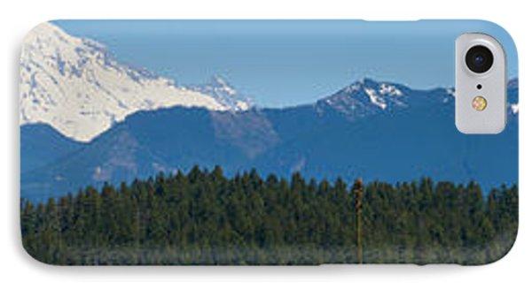 Panoramic Rainier Rt.25 Phone Case by Tikvah's Hope