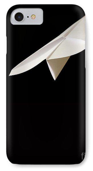 Paper Airplane IPhone Case by Edward Fielding