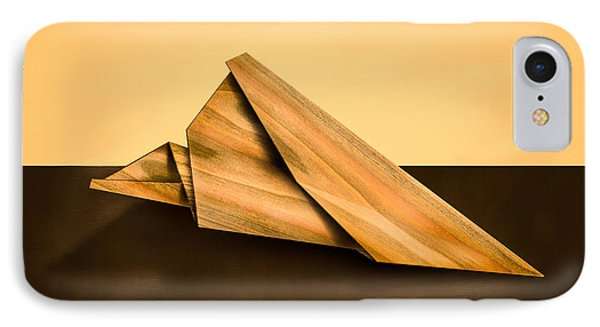 Paper Airplanes Of Wood 2 Phone Case by Yo Pedro
