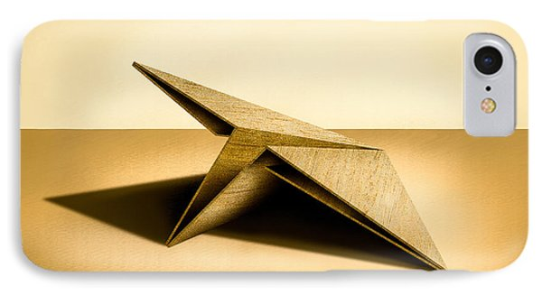 Paper Airplanes Of Wood 7 IPhone Case by YoPedro