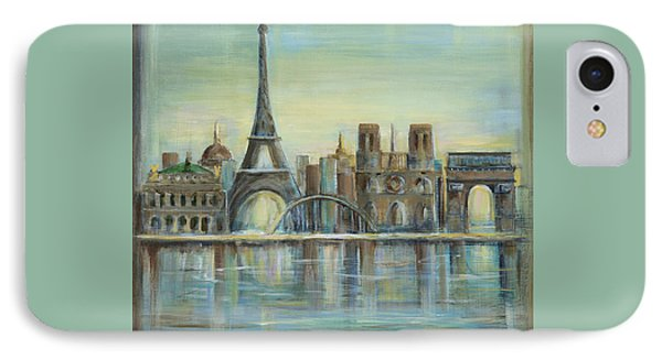 Paris Highlights IPhone 7 Case by Marilyn Dunlap