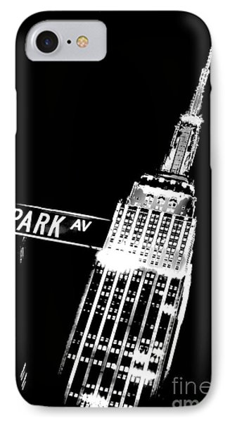 Park Avenue IPhone Case by Az Jackson