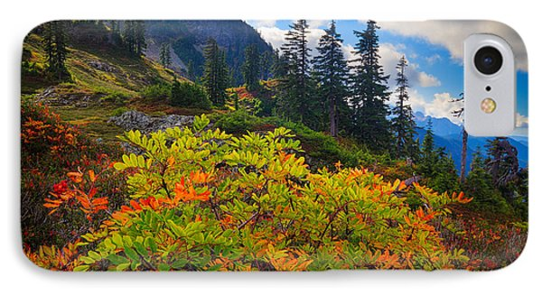 Park Butte Fall Color Phone Case by Inge Johnsson