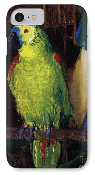 Parrot IPhone Case by George Wesley Bellows