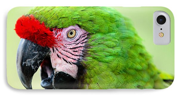 Parrot IPhone Case by Sebastian Musial