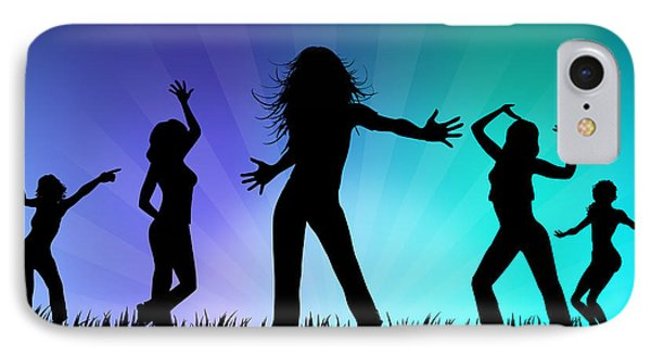 Party People Phone Case by Aged Pixel